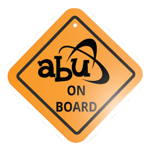 ABU On Board Metal Signs