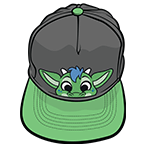 PeekABU Hat Dragon