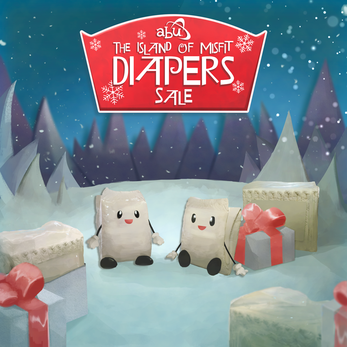 ABU Island Of Misfit Diapers Sale