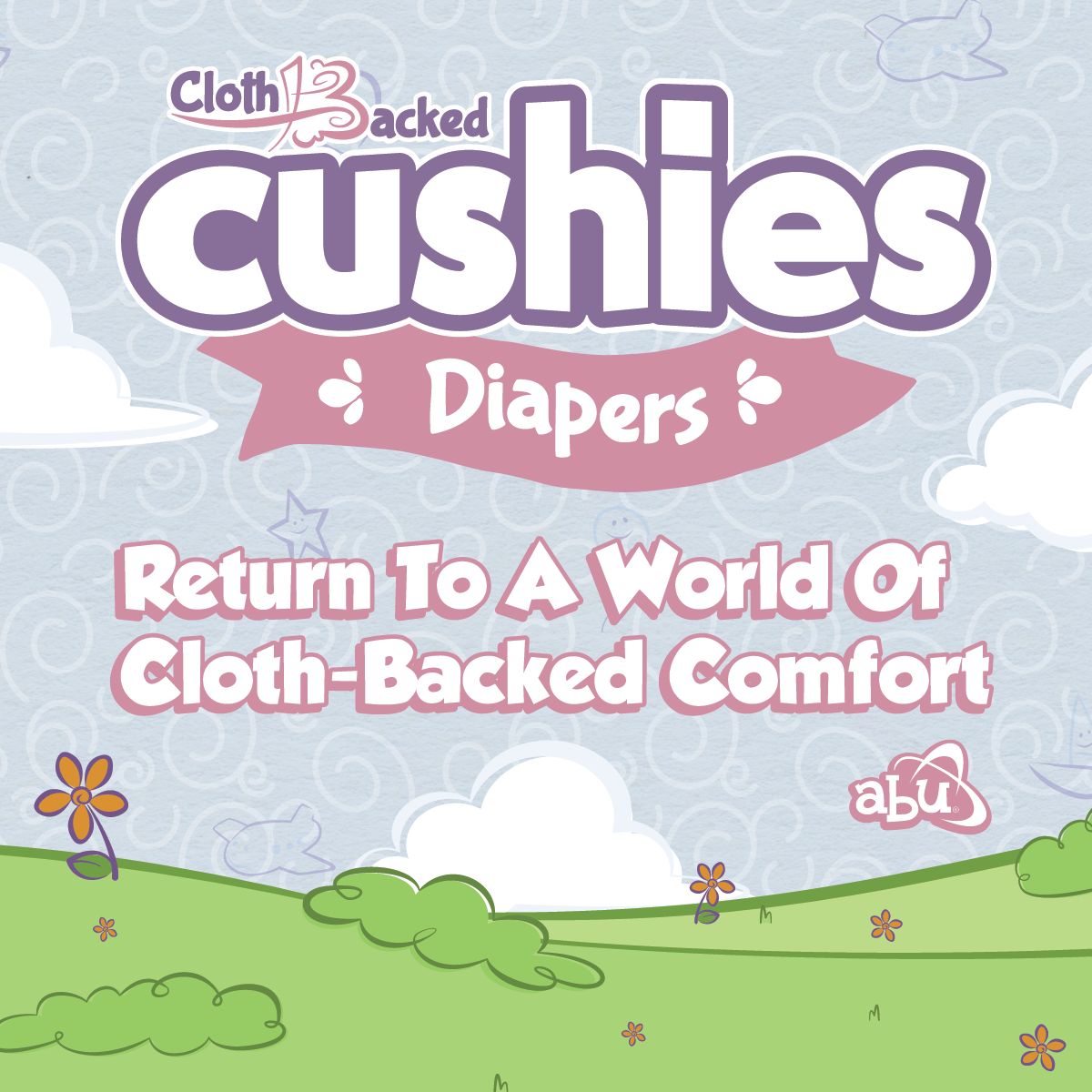 Cloth-Backed Cushies Release Banner